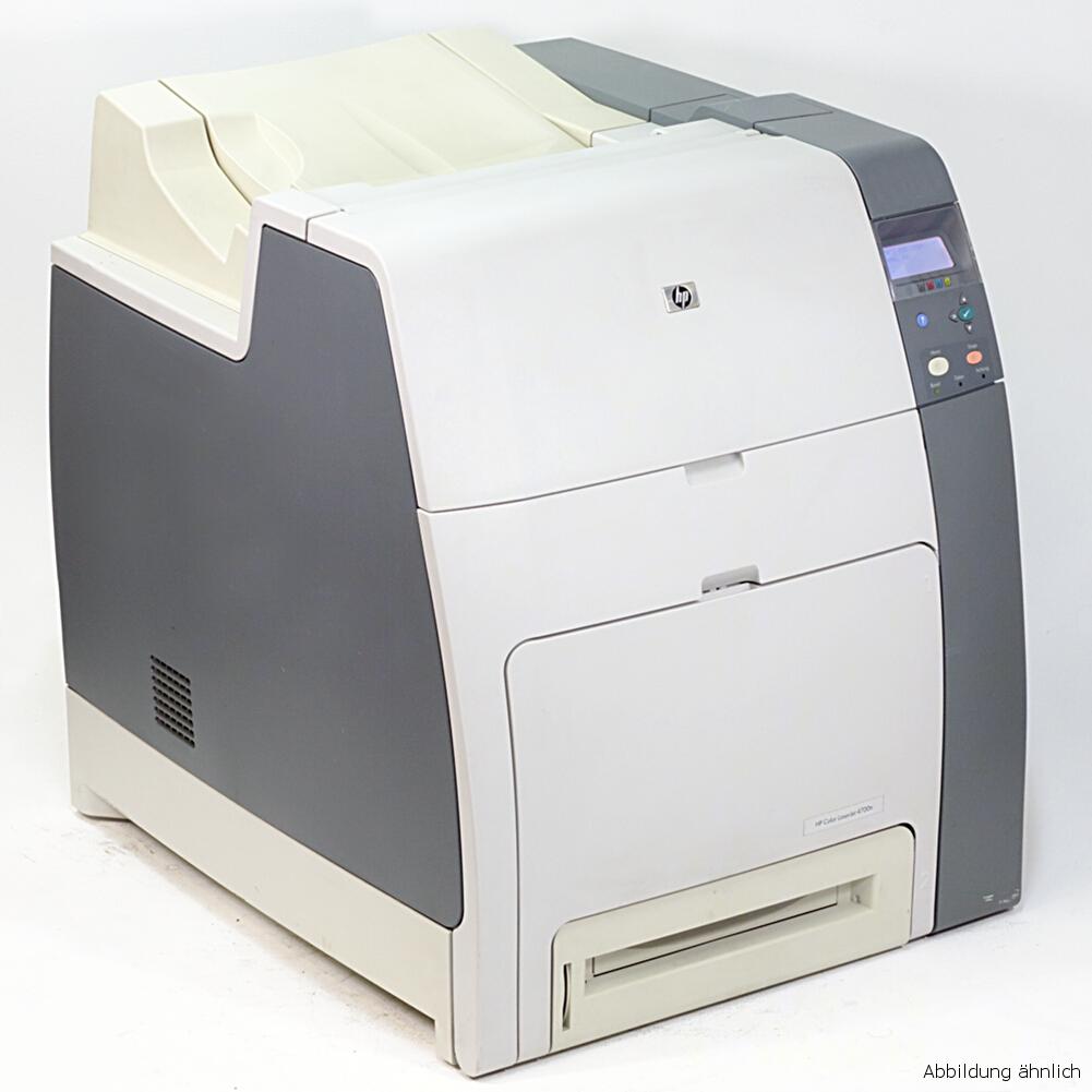 HP Drucker 4700DN Color Laserjet Netzwerk Duplex Laserdrucker 245450 Seiten