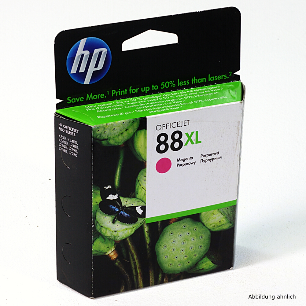 HP Original Druckerpatrone 88 XL Magenta C9392AE Drucker Officejet K5400 K550 L7400