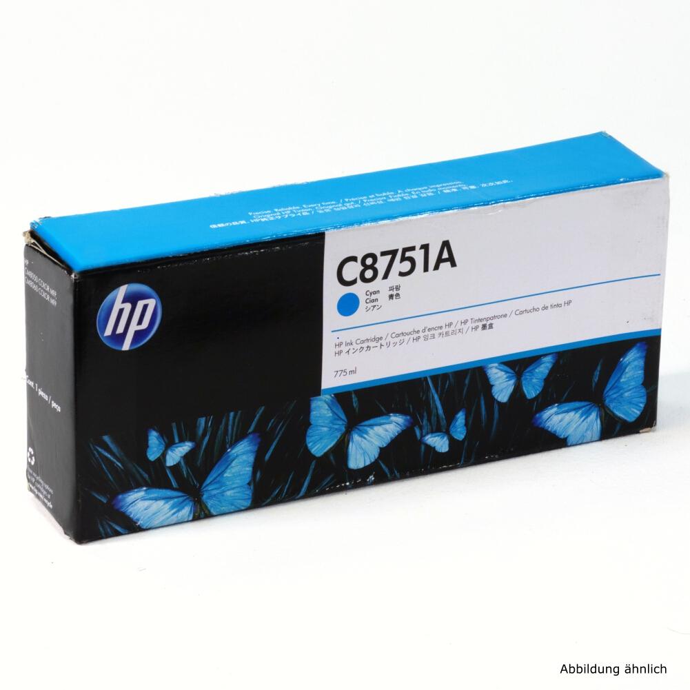 HP Original Druckerpatrone C8751A Cyan für Drucker CM850 CM8060 MFP