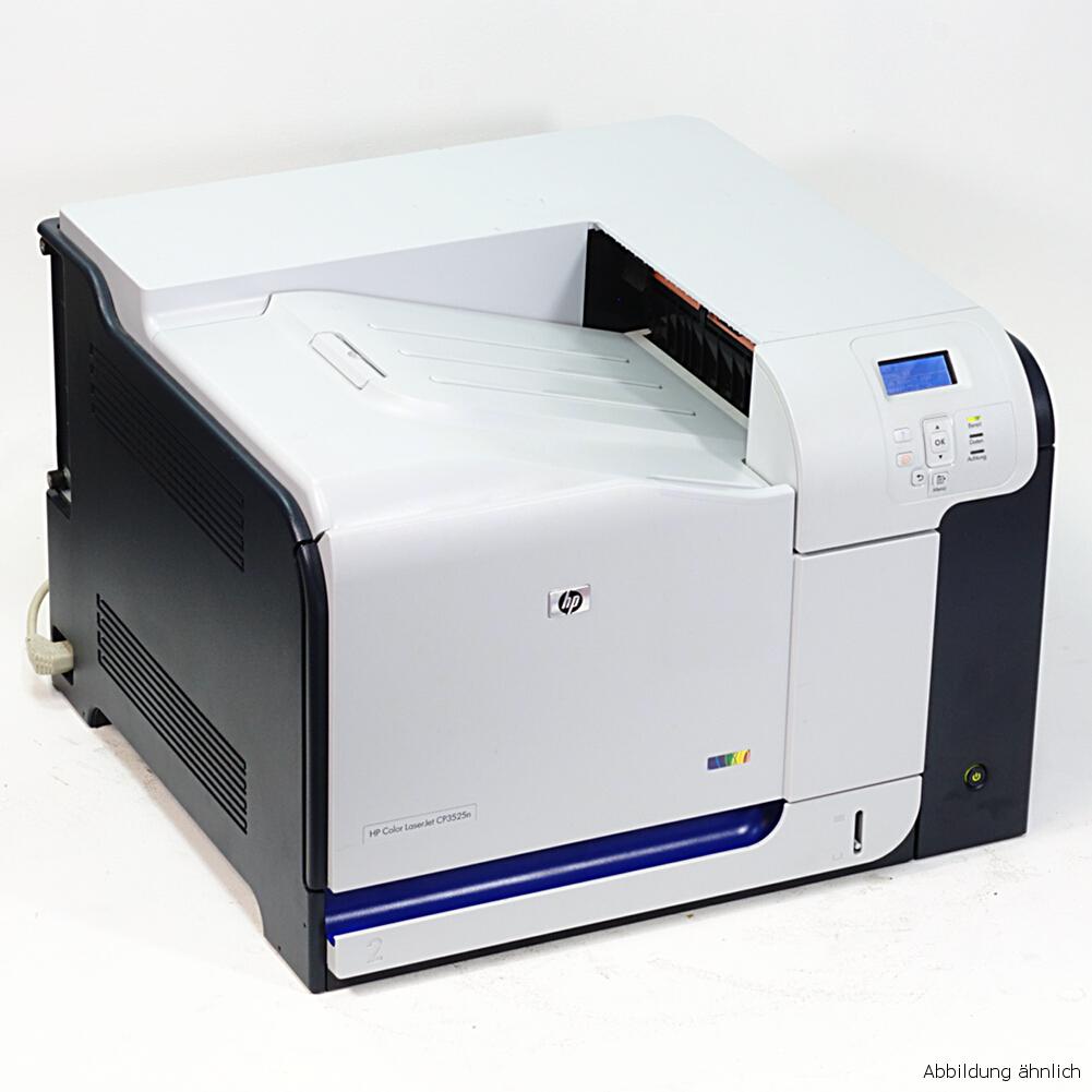 HP Drucker Laserjet 500 M551 DN Color Laserdrucker gebraucht 120550 Seiten