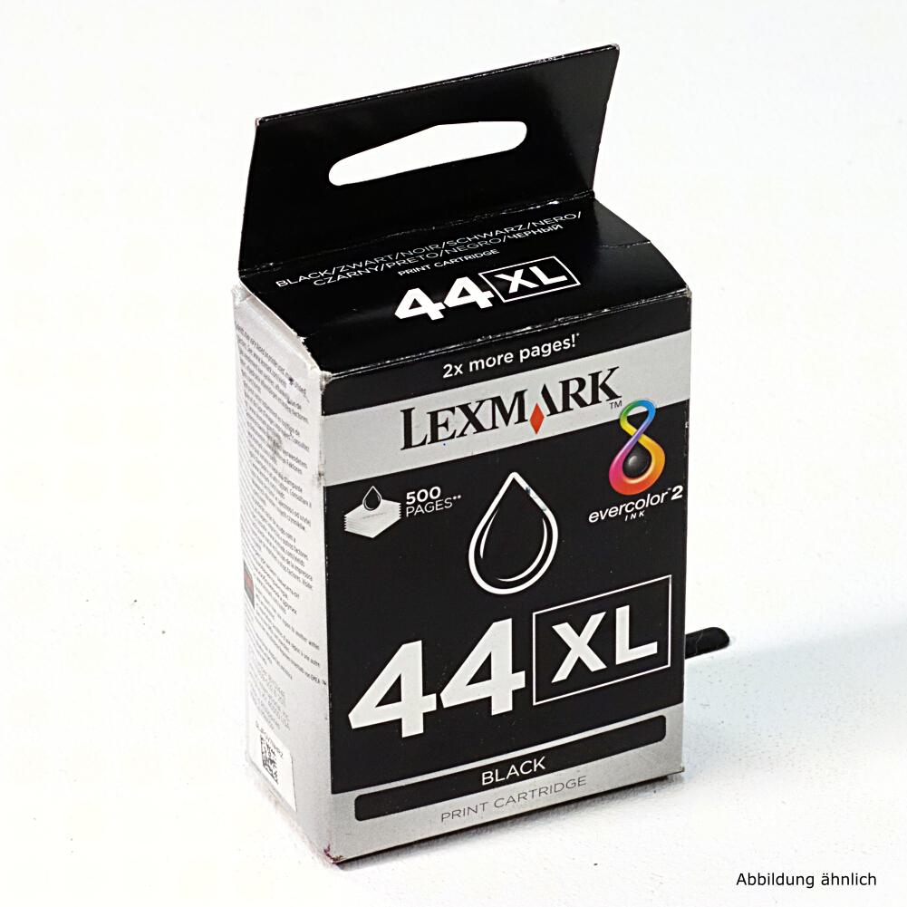 Lexmark Original Druckerpatrone 44 XL Black 18Y0144E für Drucker X4850 4875 4950