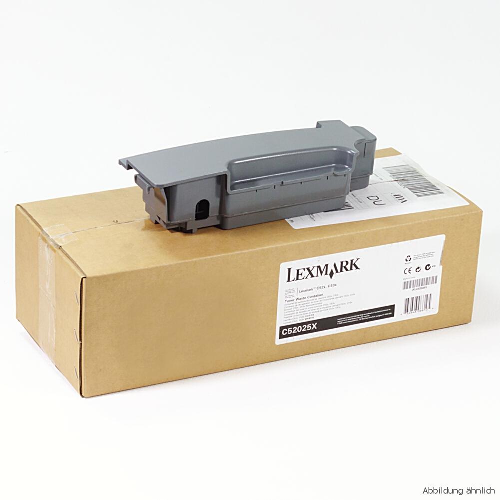 Lexmark Original Resttonerbehälter C52025X für Drucker  C522 C524 C530 C532 C534