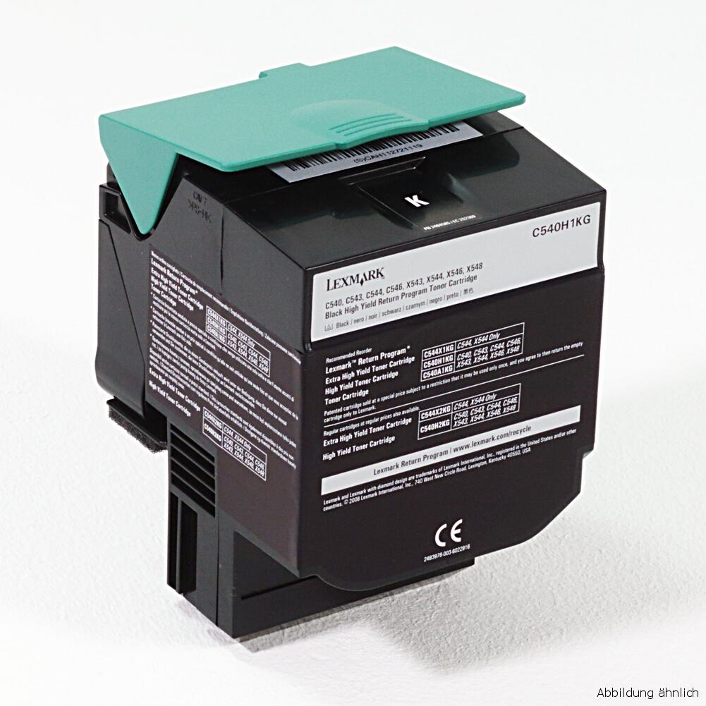 Lexmark C540H1CG Original Toner für Drucker C540 C543 C544 C546 X543 X544 X546 X548